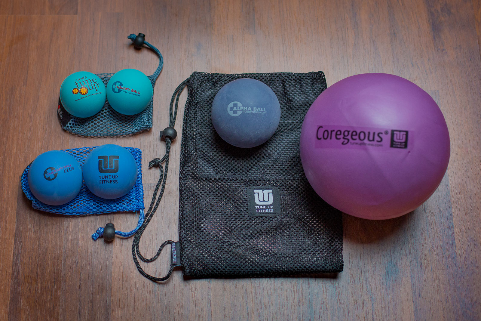 Yoga Tune Up Balls von Jill Miller