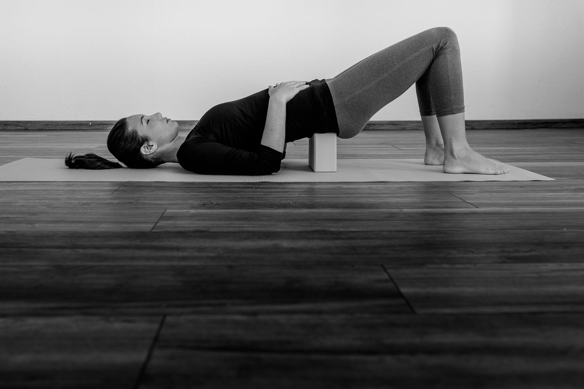 Einmal im Monat biete ich einen kostenlosen Online-Yoga Kurs an.